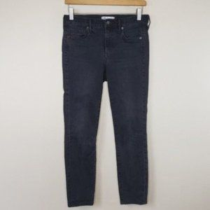 Madewell | Factory Faded Black Skinny Jeans